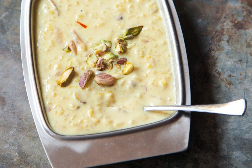 Indian Rice Pudding (Kheer)