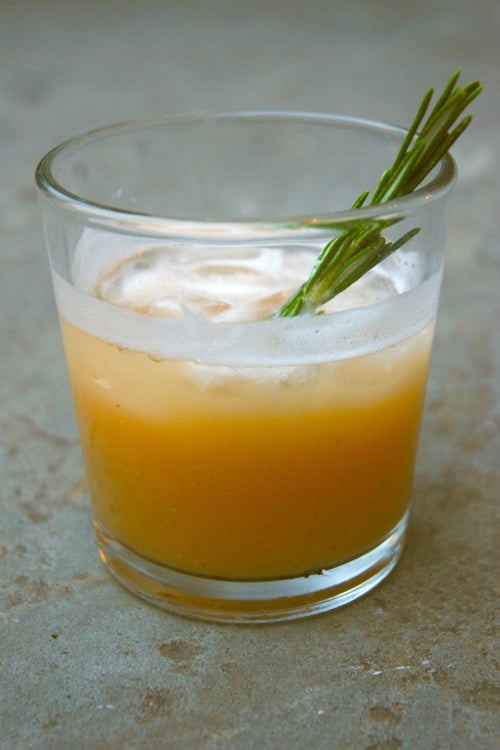 Spiced Pear Collins