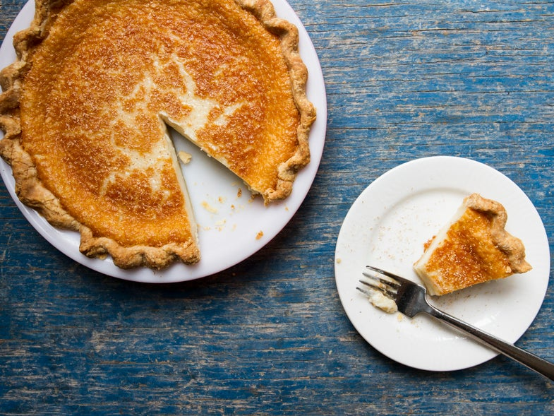 Indiana Sugar Cream Pie