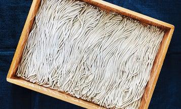 Homemade Soba Noodles