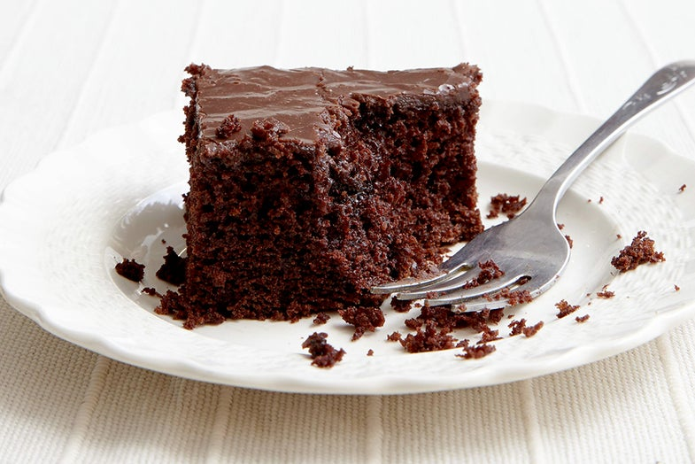 Ozark Sour Chocolate Cake