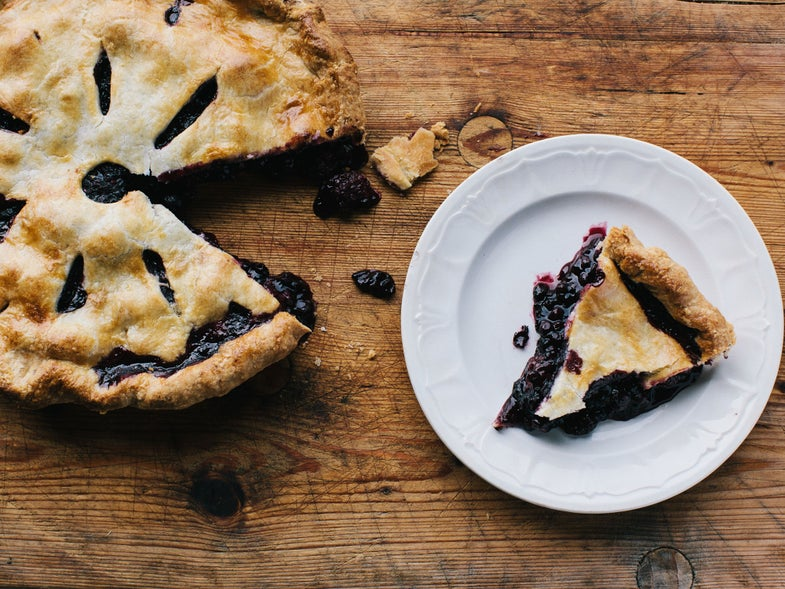 Blackberry and Blueberry Pie for Blueberry Recipes