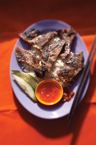 Vietnamese Caramelized Pork Chops (Suon Nuong)