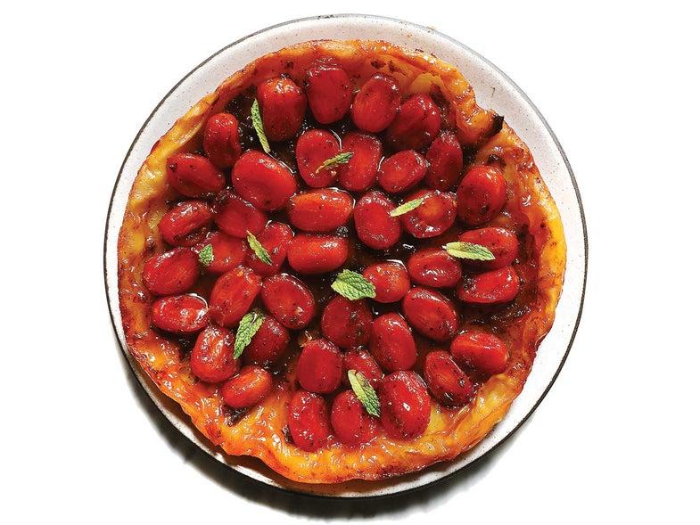 Cherry Tomato Tarte Tatin