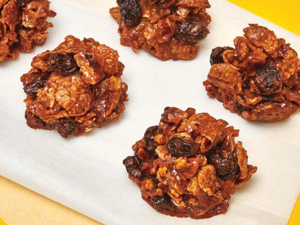 Chocolate Cornflake Haystacks
