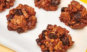 Dorie Greenspan's Chocolate-Cornflake Haystack Cookies