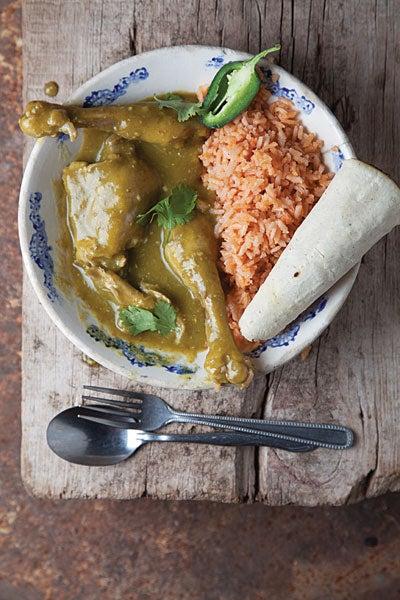 Zacatecas-Style Green Mole With Chicken (Pollo en Mole Verde Zacatecano)
