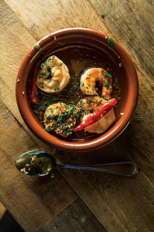 Chile-Garlic Shrimp (Gambas Al Ajillo)