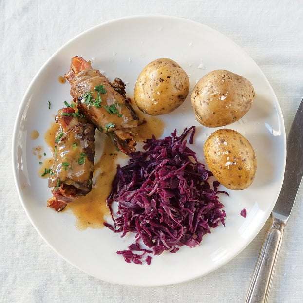 German Braised Beef Rolls (Rouladen)