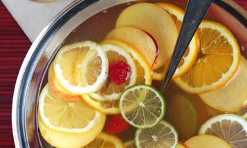 Friday Cocktails: White Wine Punch