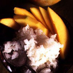 Sticky Rice with Mangoes (Kao Niow Mamuang)