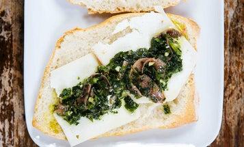 Italian Pecorino, Parsley, and Anchovy Sandwiches
