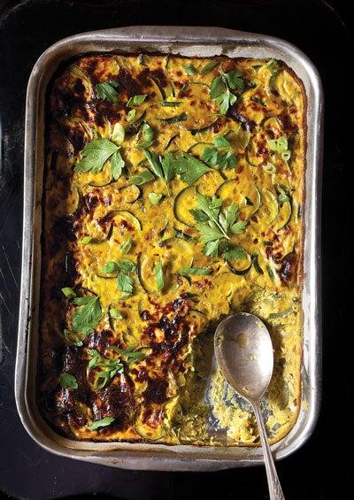 Persian Zucchini Frittata (Kuku Kadoo)