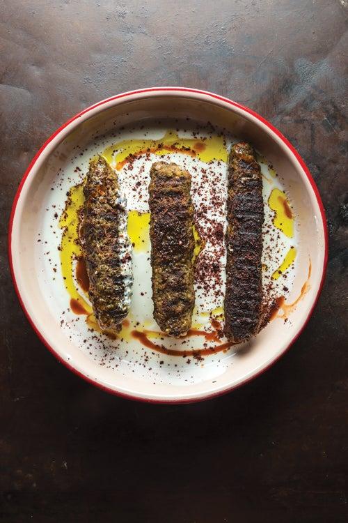 Ground Lamb, Bulgur, and Pistachio Kebabs (Simit Kebap)