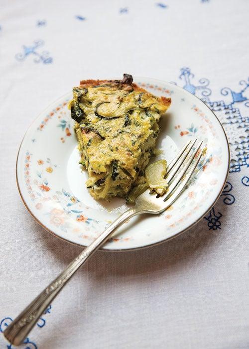 Zucchini, Onion and Ricotta Pie (Torta Salata di Zucchine e Cipolle)