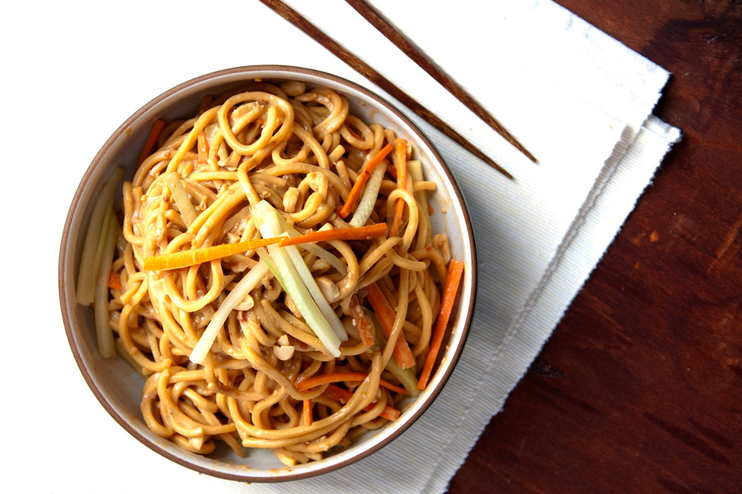 Learning to Love Christmas with Lo Mein