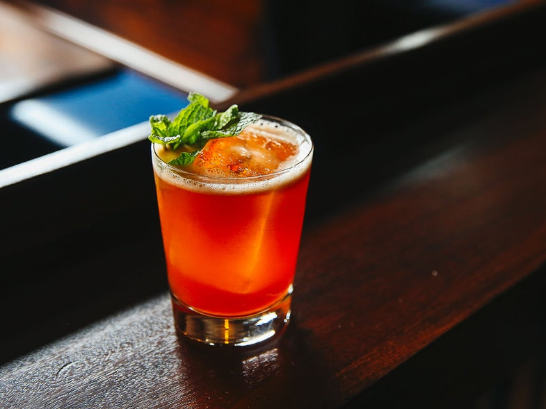 Sweet Talking Son Cocktail