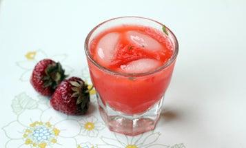 Strawberry Rhubarb Smash