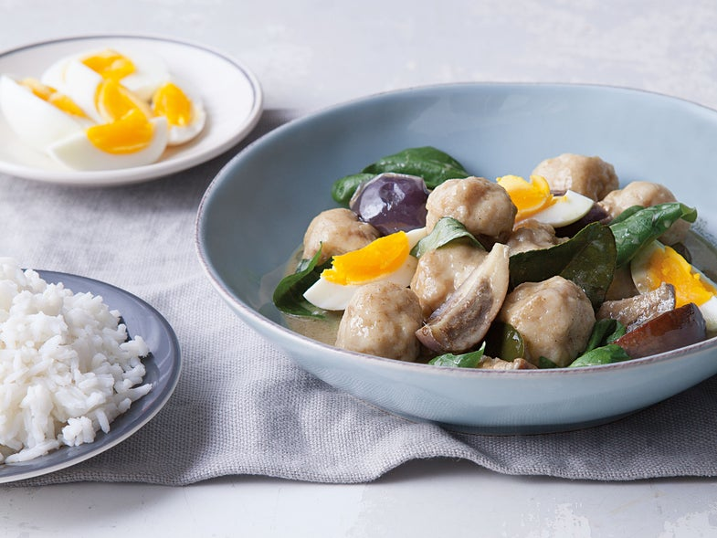 Green Curry with Fish and Eggplant (Kaeng Khiaw Waan)