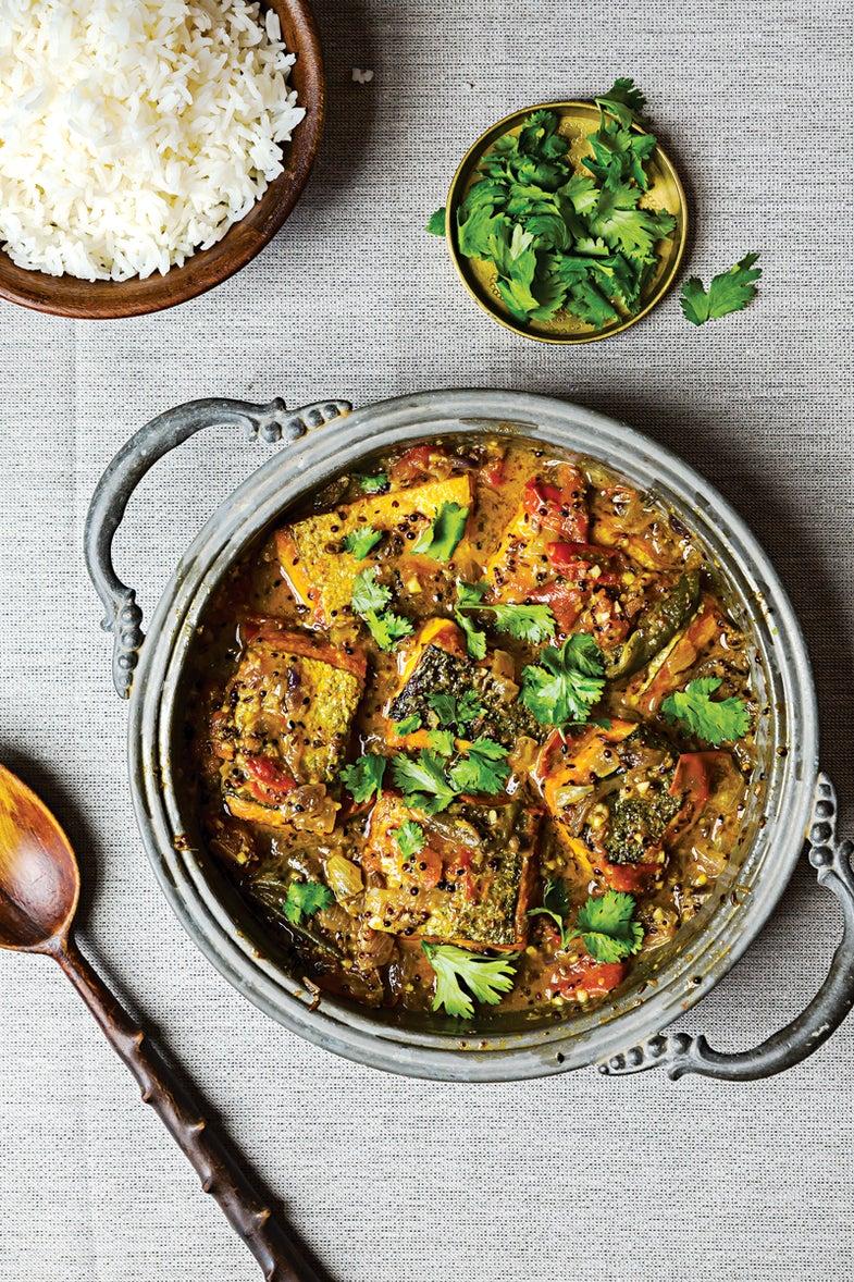 Bengali-Style Fish Stew (Maacher Jhol)