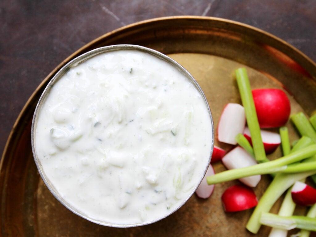 Yogurt Sauce, Farideh's Father