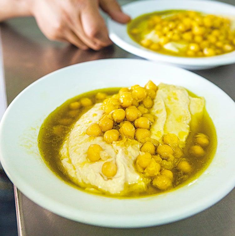 Galilean-Style Hummus (Hummus Maushaushe)
