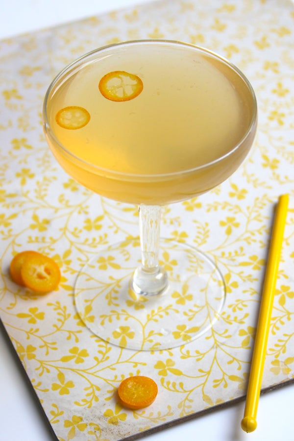 Friday Cocktails: The Kumquat Rose