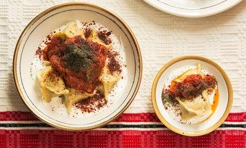 Turkish Yogurt and Brown Butter Tomato Sauce