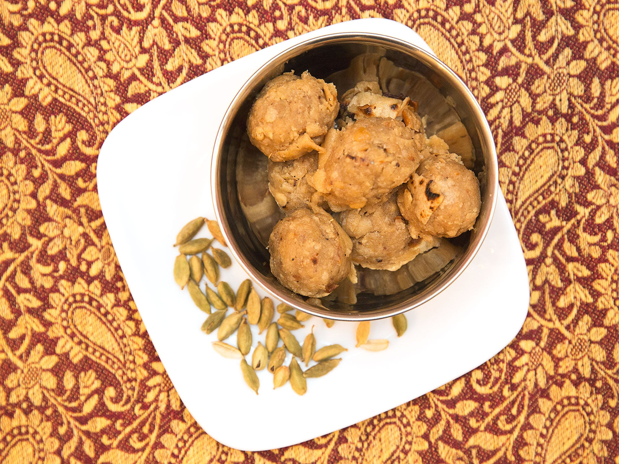 Spiced Indian Cake Balls (Roti Laddu)