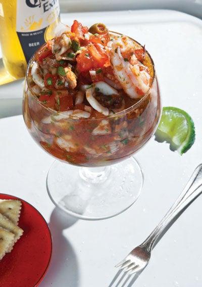Veracruzan Seafood Cocktail (Vuelve a La Vida)