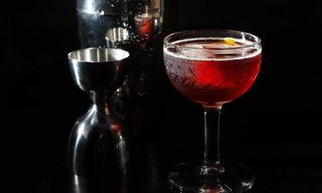 TiNegroni (Half-Sized Negroni Cocktail)