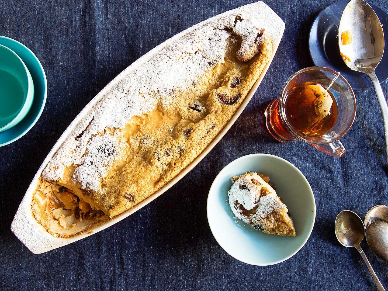 Fruit Cake Clafoutis