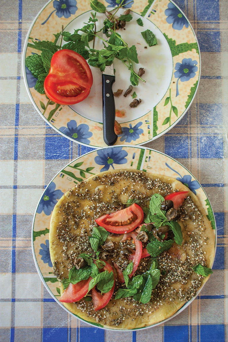 Flatbread with Za'atar is Perfect for a Warm Weather Weekend