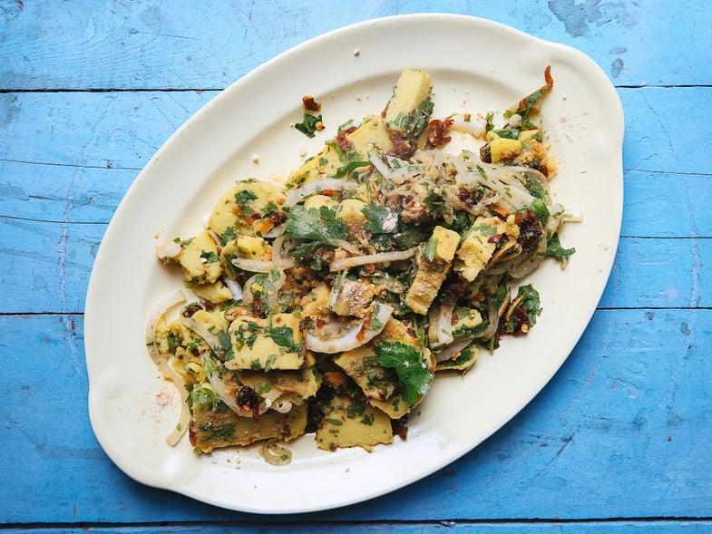 Burma Superstar's Shan Tofu Salad