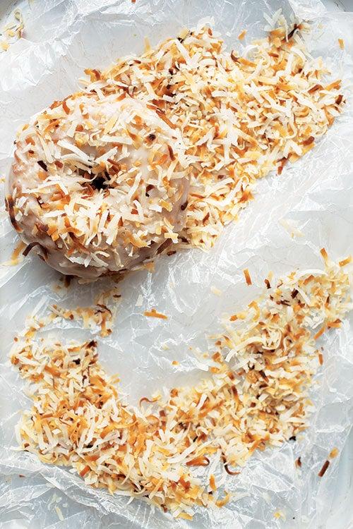 Top Pot Triple Coconut Donuts