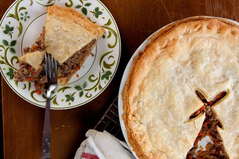 Québécois Meat Pie (Tourtière)
