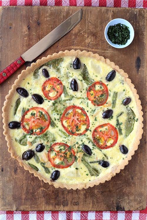 Niçoise Salad Quiche