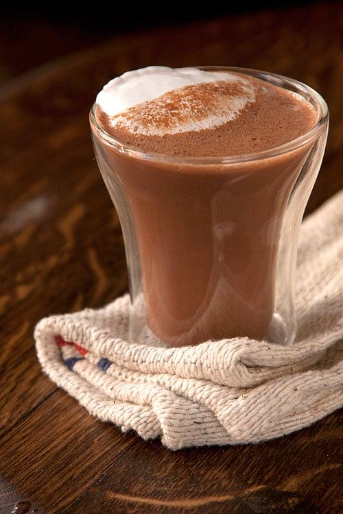 Fluffernutter Hot Cocoa