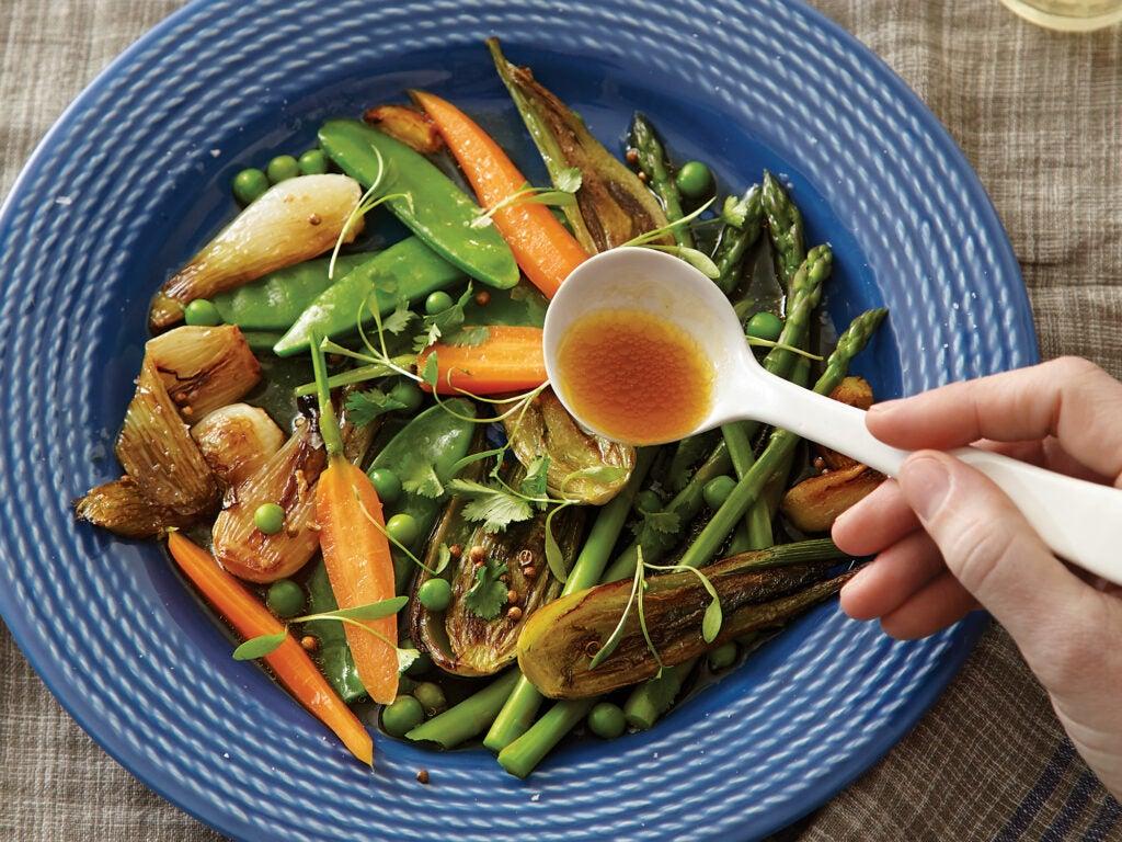 Barigoule of Spring Vegetables