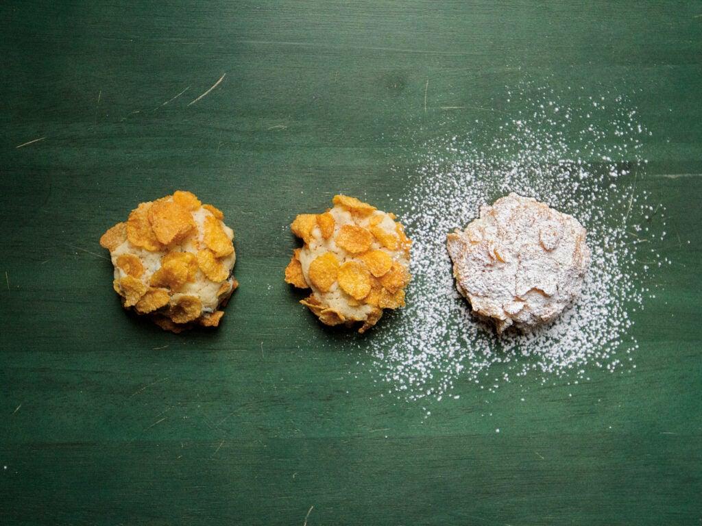 Umbrian Snowflake Cookies