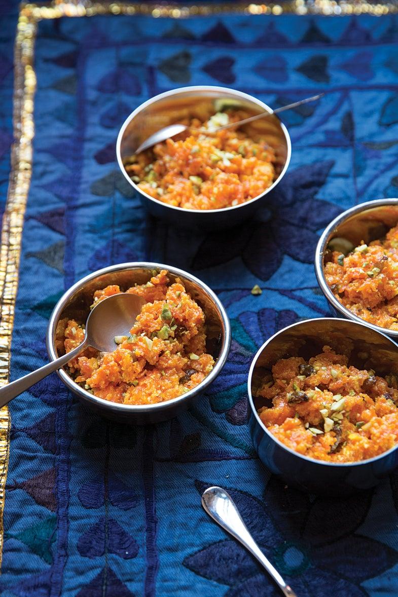 Punjabi-Style Carrot Pudding (Gajar ka Halwa)