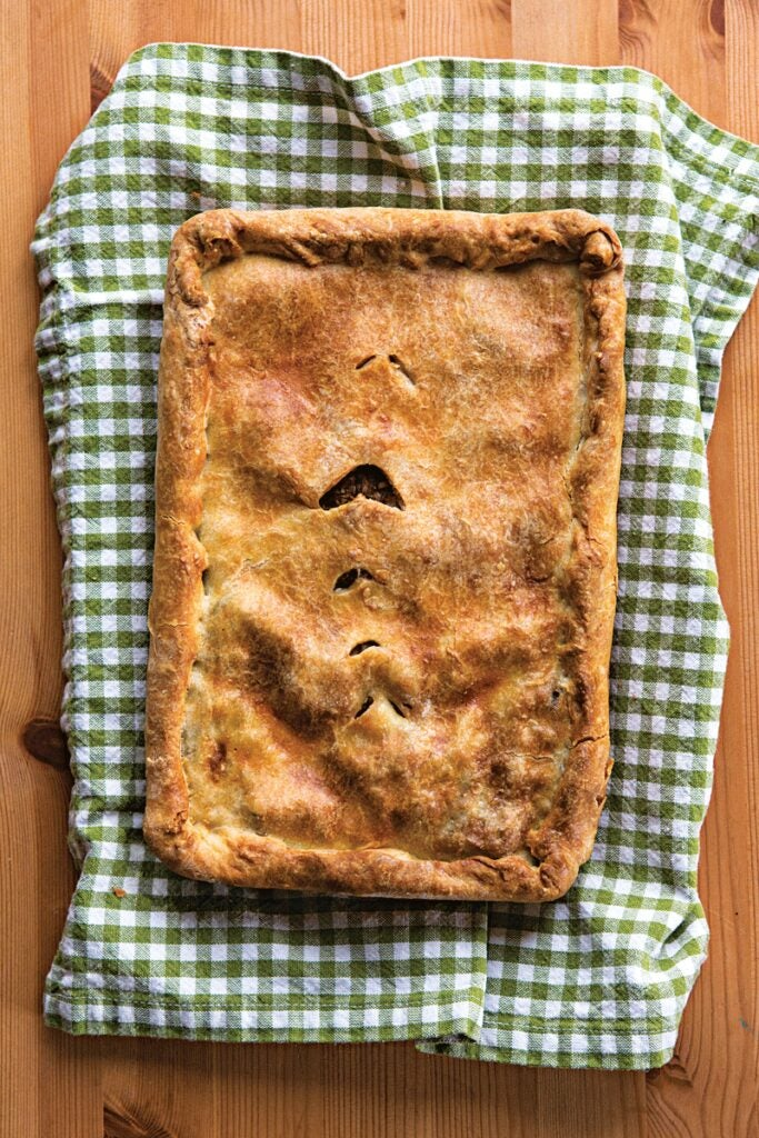 Marion Buote's Meat Pie