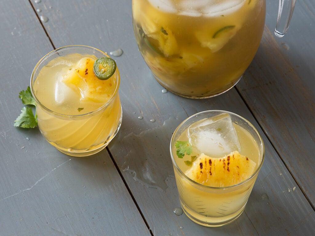 Mezcal and Pineapple Margarita