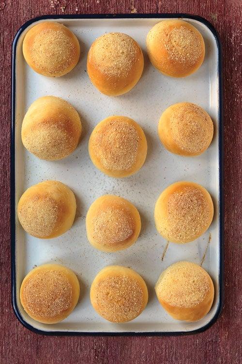 Sweet Filipino-Style Rolls (Pan de Sal)