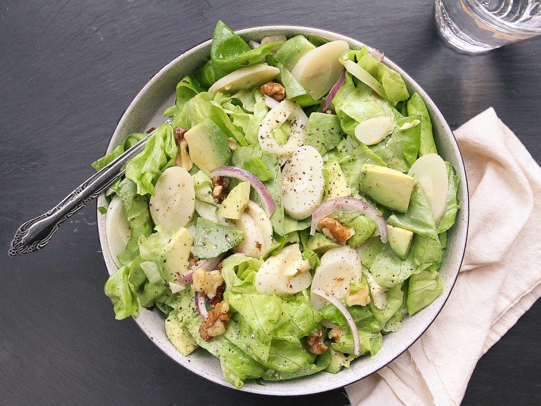 Hearts Of Palm and Avocado Salad