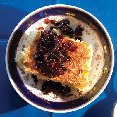 Baked Rice with Barberries (Tah Chin)