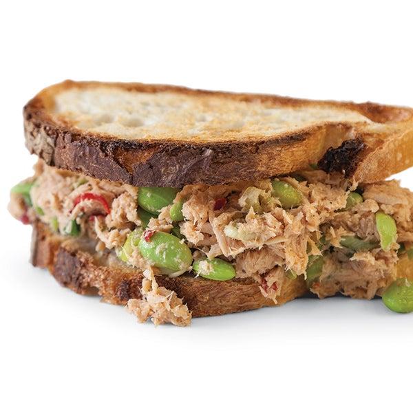 Edamame-Miso Tuna Sandwich