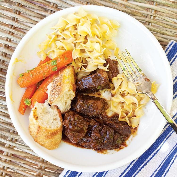 Flemish Beef and Beer Stew (Carbonnade)