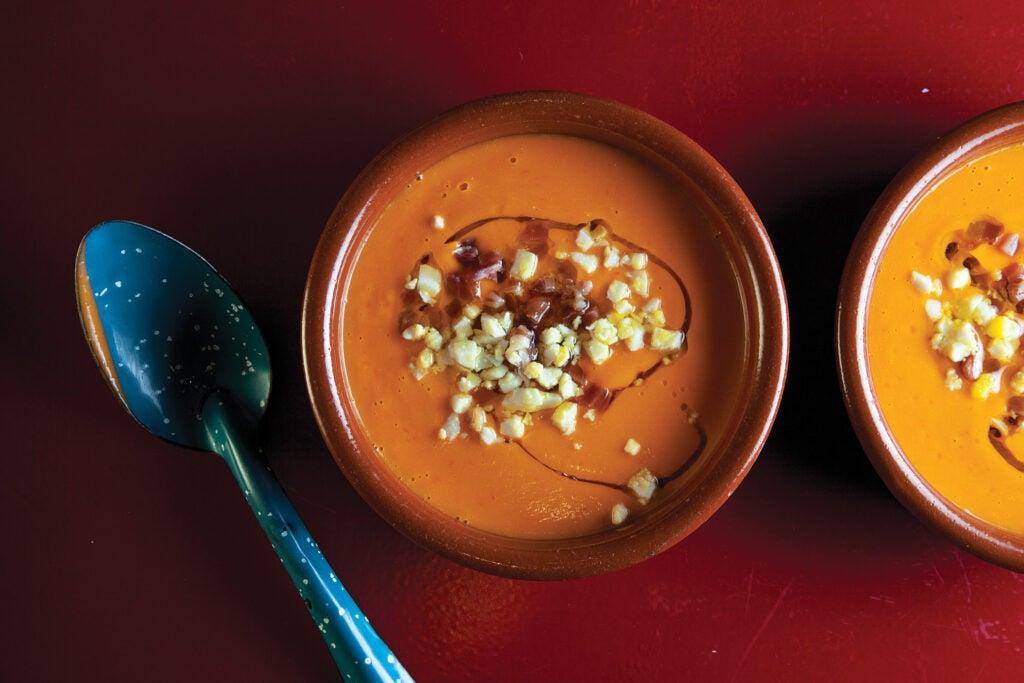 Spanish Chilled Tomato Soup (Salmorejo)