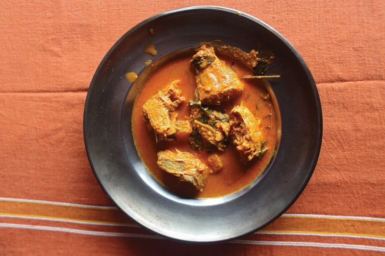 Thalassery-Style Fish Curry (Thalassery Meen Curry)